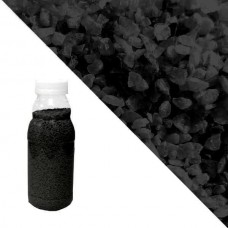 Чёрный кварцевый песок RAL 9005 (Jet Black)