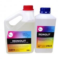 Эпоксидная смола MONOLIT для заливки толстых слоёв 3 кг