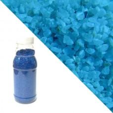 Синяя кварцевая крошка RAL5015 (sky blue)