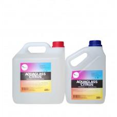 AquaGlass Citrus 6000 грамм (прозрачная эпоксидная смола)